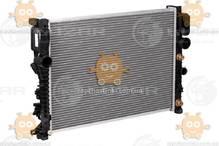 Радиатор охлаждения E (W211) (от 2002г), CLS C219 (от 2004г) АКПП (AC +, -) (пр-во Luzar Россия) ЗЕ 64233