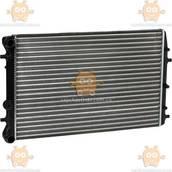 Радиатор охлаждения Fabia (от 1999г), Fabia II (от 2007г), Polo (от 2001г) МКПП, АКПП AC+ (Luzar) ЗЕ 48374