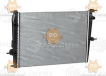 Радиатор охлаждения Fluence, Megane 1.6, 2.0 (от 2008г) МКПП (пр-во Luzar Россия) ЗЕ 39336