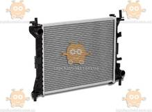 Радиатор охлаждения Focus I (от 1998г) 1.4i, 1.6i, 1.8i МКПП (пр-во Luzar Россия) ЗЕ 59714