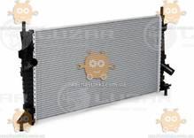 Радиатор охлаждения Focus II A, C (от 2005г), Mazda 3 (от 2003г), C-Max (от 2003г) МКПП, АКПП (Luzar) ЗЕ 48409