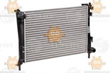 Радиатор охлаждения FUSION (от 2002г), FIESTA (от 2001г) M, A 1.25EFi, 1.4EFi, 1.6EFi (Luzar Россия) ЗЕ 59675
