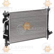 Радиатор охлаждения Hyundai Creta (от 2015г) АКПП (пр-во Luzar Россия) ЗЕ 00004096