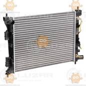 Радиатор охлаждения Hyundai Solaris, Kia Rio (от 2010г) AT6 (пр-во Luzar Россия) ЗЕ 00005334
