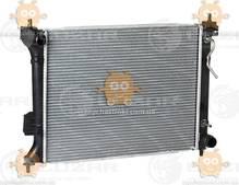 Радиатор охлаждения I20 1.2, 1.4, 1.6 (от 2008г) АКПП (пр-во Luzar Россия) ЗЕ 36277