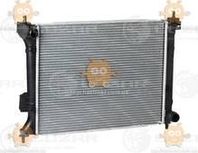 Радиатор охлаждения I20 1.2, 1.4, 1.6 (от 2008г) МКПП (пр-во Luzar Россия) ЗЕ 36135
