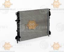 Радиатор охлаждения Logan (до 2008г) 1.4, 1.6 с кондиционером МКПП (алюминий) (пр-во Luzar Россия) ЗЕ 00000702