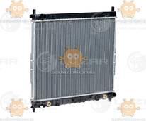 Радиатор охлаждения Rexton 2.3, 2.9 (от 2002г) АКПП, МКПП (пр-во Luzar Россия) ЗЕ 26797