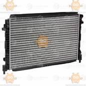 Радиатор охлаждения Skoda Octavia A7 (от 2013г), VW Golf (от 2012г) 1.6i (пр-во Luzar Россия) ЗЕ 69147