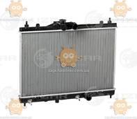 Радиатор охлаждения Tiida 1.5, 1.6 (от 2004г) АКПП (пр-во Luzar Россия) ЗЕ 26792