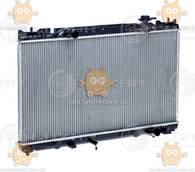 Радиатор охлаждения Toyota Camry (от 2001г) MT (пр-во Luzar Россия) ЗЕ 55654
