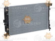 Радиатор охлаждения Vectra B (от 1995г) 1.6i, 1.8i, 2.0i, 2.0TD АКПП AC + (пр-во Luzar Россия) ЗЕ 48386