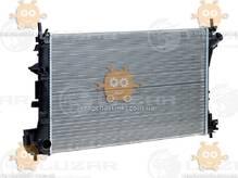 Радиатор охлаждения Vectra C (от 2002г) МКПП (пр-во Luzar Россия) ЗЕ 48387