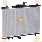 Радиатор охлаждения Renault Koleos (от 2008г) 2.0i, 2.5i М, А (пр-во Luzar Россия) ЗЕ 25461