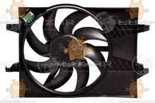 Электровентилятор охлаждения с кожухом Fiesta (от 2001г), Fusion (от 2002г) (пр-во Luzar Россия) ЗЕ 48452