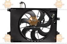 Электровентилятор охлаждения с кожухом Hyundai Creta (от 2016г) (пр-во Luzar Россия) ЗЕ 64207