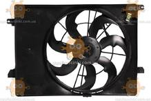 Электровентилятор охлаждения с кожухом KIA Sorento III (от 2014г) 2.4i (пр-во Luzar Россия) ЗЕ 64205