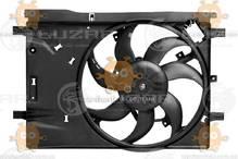 Электровентилятор охлаждения с кожухом Opel Corsa D (от 2006г) (пр-во Luzar Россия) ЗЕ 64212