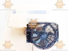 Электровентилятор кондиционера с кожухом BMW X5 (E53) (от 2000г) (пр-во Luzar Россия) ЗЕ 66059