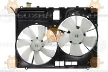 Электровентилятор охлаждения с кожухом (2 вентиля) Lexus RX II (от 2003г) 3.0i, 3.3i (Luzar) ЗЕ 00004235