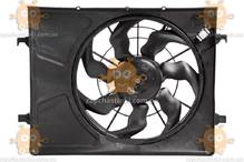 Электровентилятор охлаждения с кожухом Kia CEED, i30 Hyundai Elantra (HD) (пр-во Luzar Россия) ЗЕ 00004246