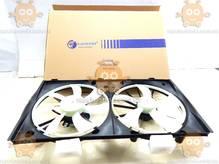 Электровентиляторы охлаждения с кожухом (2 вентилятора) Toyota Camry (XV40) (от 2007г) 2.4i (Luzar) ЗЕ 64210