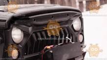 Решетка радиатора УАЗ 469, 3151 ХАНТЕР (модель ВЕПРЬ) (пр-во Россия) КС
