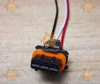 Разъем катушки зажигания ВАЗ 3-контакта (новый тип) (пр-во Тайвань) З 959183