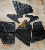 Утеплитель двери УАЗ 469, 3151, 31514, 31512 Хантер 4ШТ (Обшивка, обивка дверей) черного цвета (пр-во Россия)