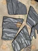 Утеплитель двери УАЗ 469, 3151, 31514, 31512 Хантер 4ШТ (Обшивка, обивка дверей) серого цвета (пр-во Россия) U 10355